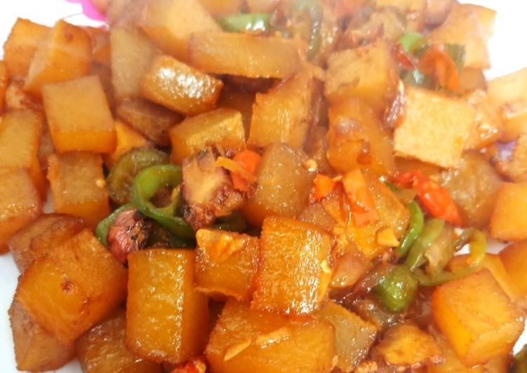 Oseng kikil sapi - cookandrecipe.com