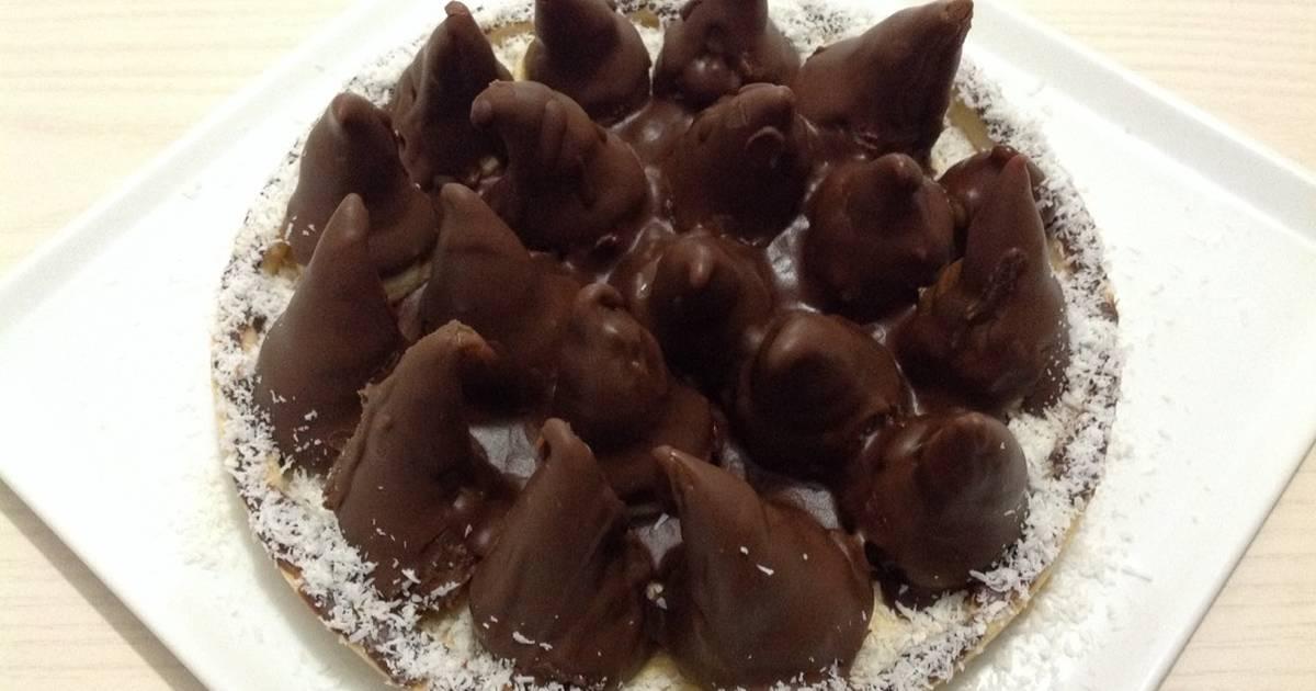 Tarta Conitos De Dulce De Leche Receta De Haydee Agreda Cookpad