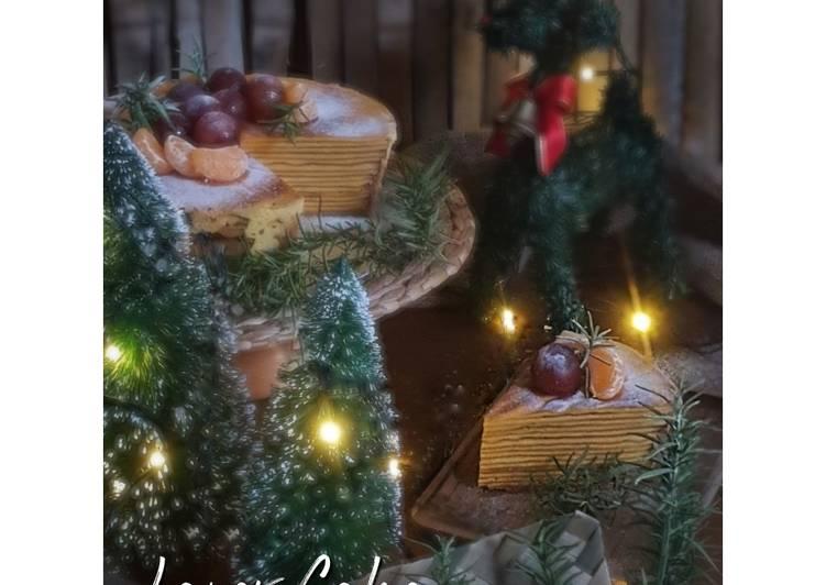 294. Kue Lapis Legit Pontianak | 干层蛋糕
