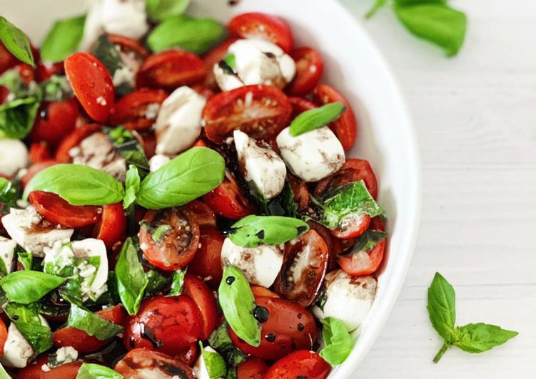 Easiest Way to Make Quick Caprese Salad