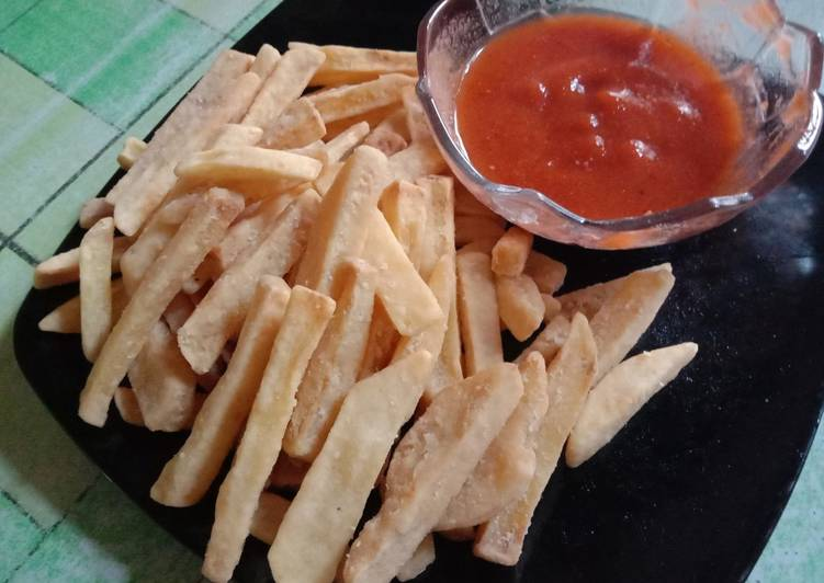 French Fries (kentang goreng)