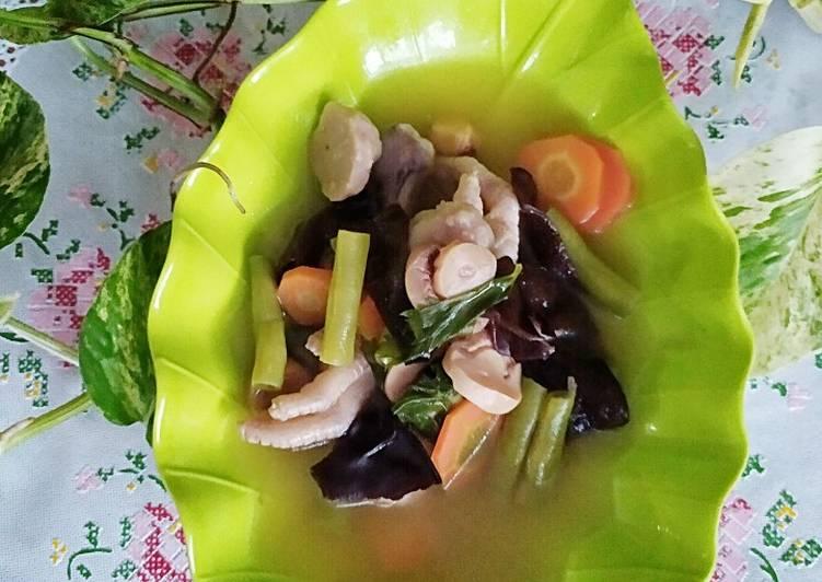 Sup Ceker Jamur