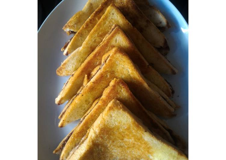 Roti bakar sederhana simple