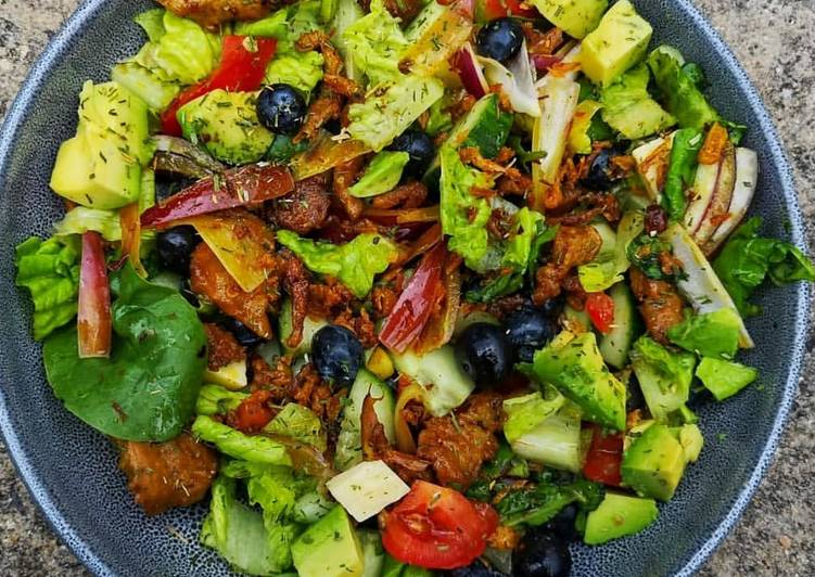 Living Greener for Better Health By Dining Superfoods Wholesome Vegetarian Salad