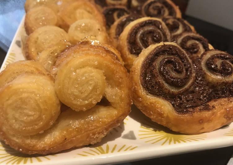 Palmiers Sucre & Chocolat