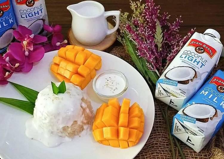 Thai Mango Sticky Rice, Award Winning Recipe/Ayam Brand Contest