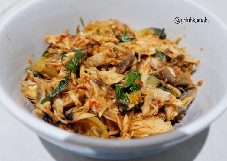 Pindang Tongkol Suwir Kemangi - cookandrecipe.com
