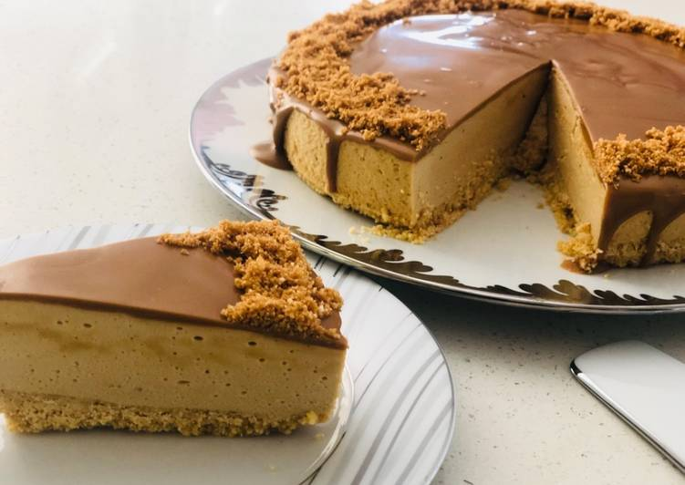 Simple Way to Make Perfect Lotus Biscoff Cheesecake