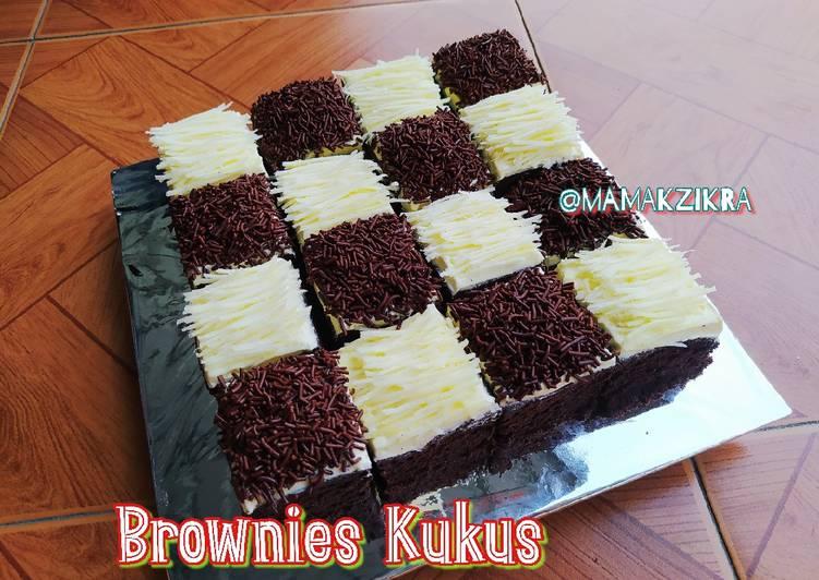 Brownies kukus 4 telur