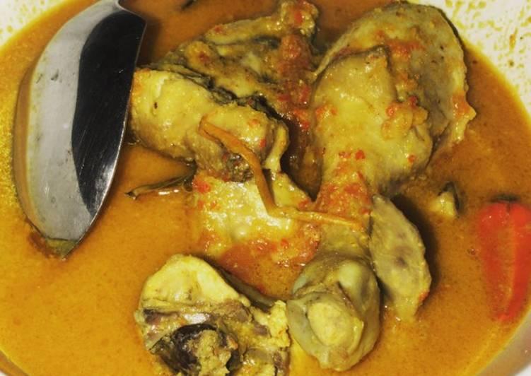 Resep Kare Ayam Sederhana yang Menggugah Selera
