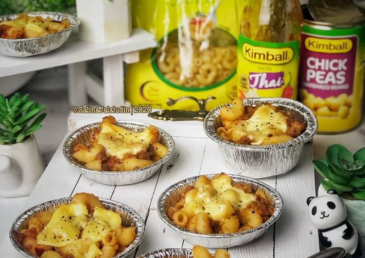 Cara Mudah Masak: Macaroni Baked Thai Sauce  Lazat
