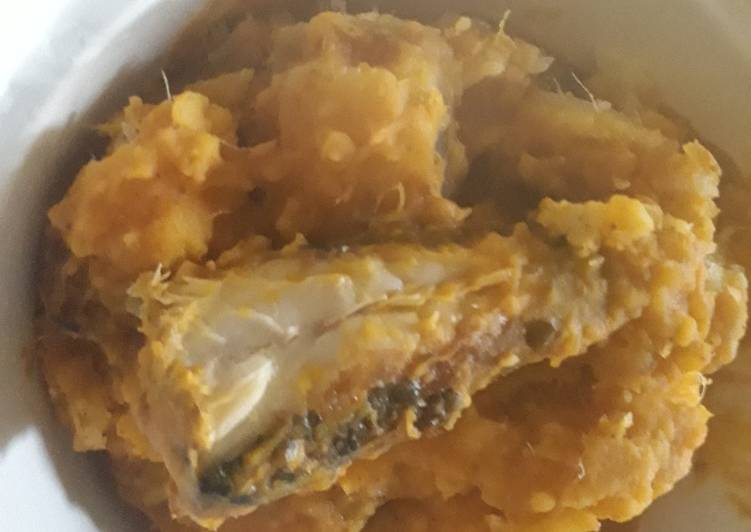 Turn to Food to Elevate Your Mood Porriage yam