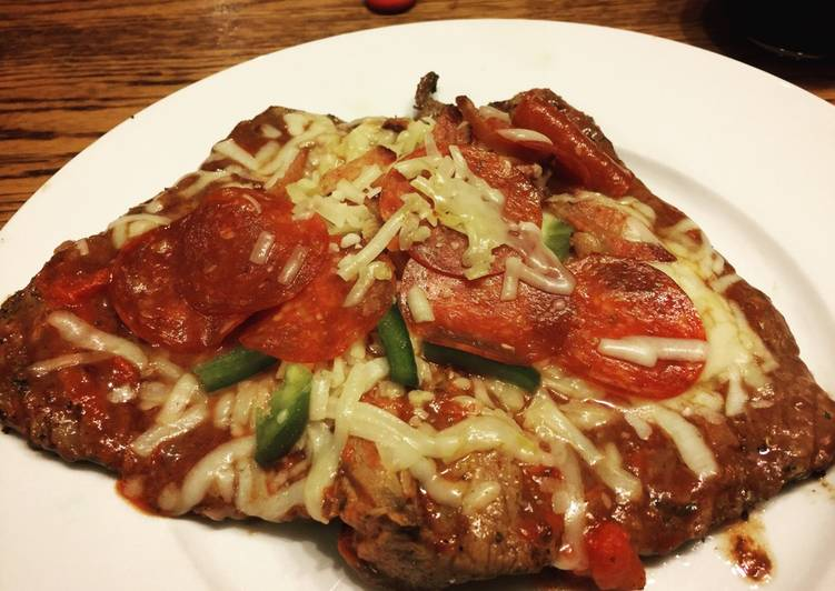Use Food to Improve Your Mood Steak Pizza