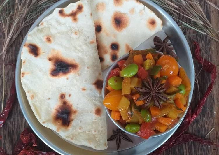 Cara Gampang Menyiapkan Maida Chapati (Chapati Tepung Terigu), Bikin Ngiler