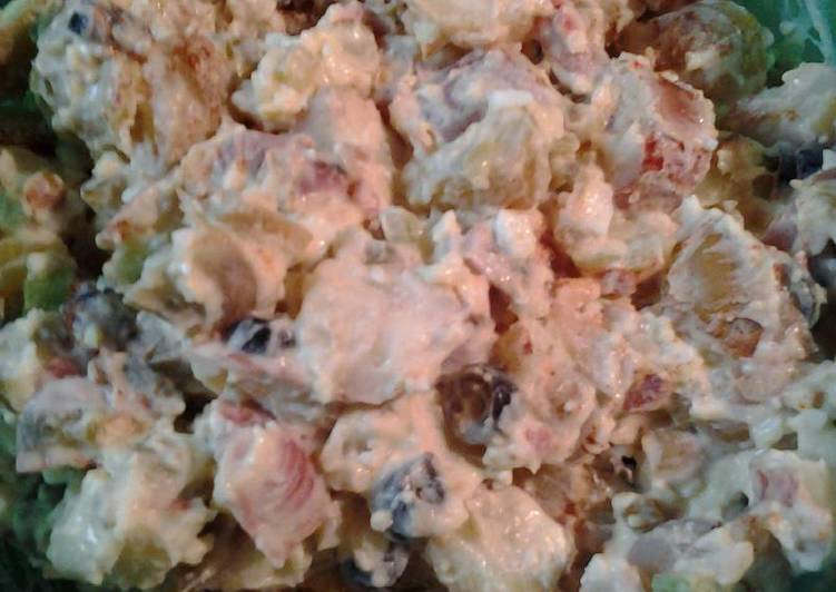Mothers Day potato salad