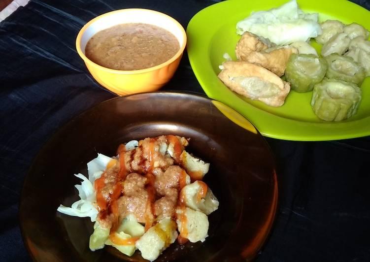 Cara membuat Siomay Ayam Rebon Low Budget (bisa buat jualan)