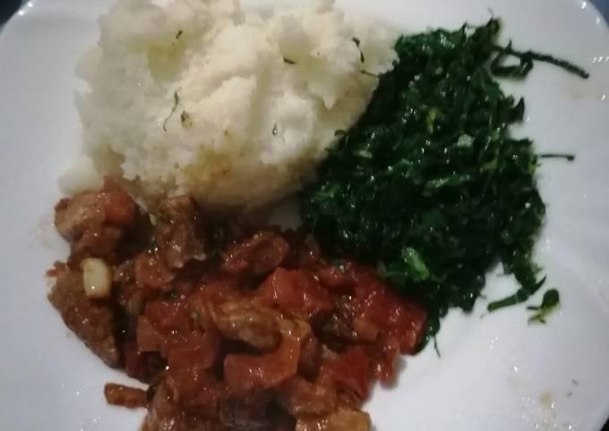 Ugali beef
