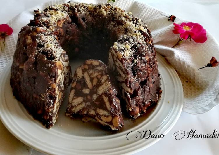Recipe of Top-Rated No Bake Cake, Lazy Cake