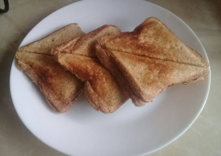 Recipe of Quick Honey Toasted Brown Bread