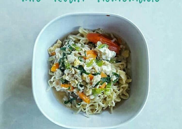 Resep Mie kuah homemade (menu balita 26bulan) Paling Mudah