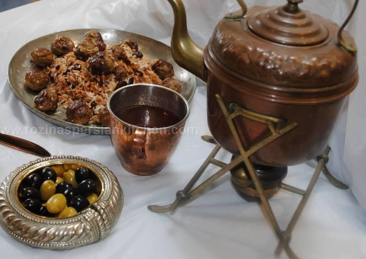 Recipe of Quick Shirazi rice pilaf قنبر پلو شیرازی #familyfriendly