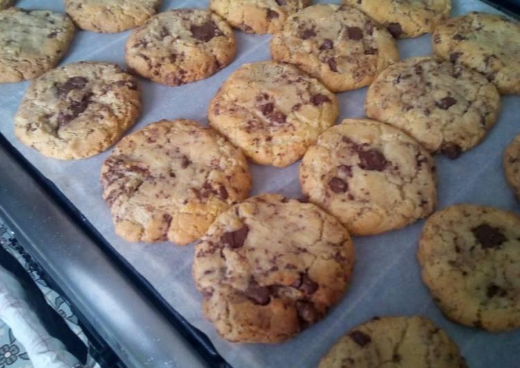 Le moyen le plus simple de Préparer Appétissante Cookies 🖤