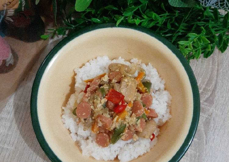 Rice Bowl Orak-Arik Pelangi