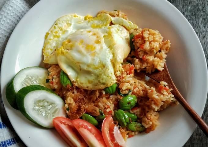 Nasi Goreng Padang (+pete dan ebi)