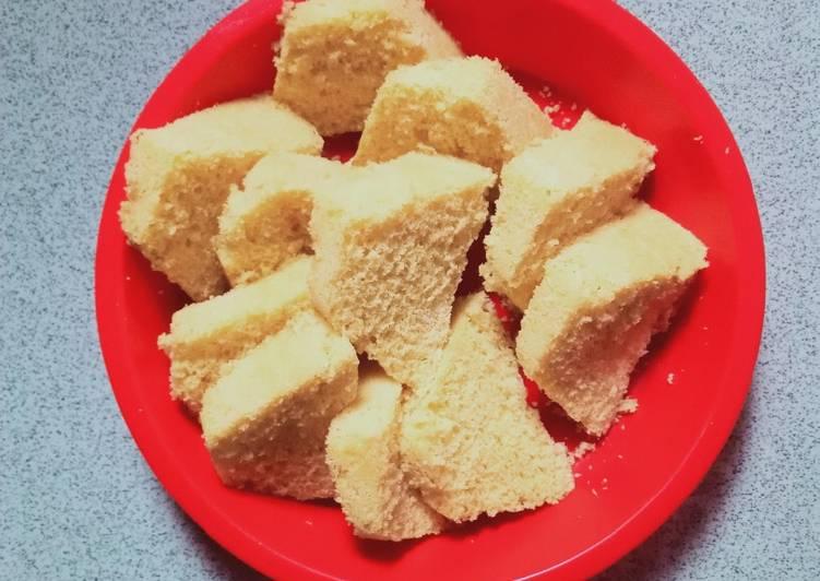 Bolu tepung beras (ekonomis) - cookandrecipe.com