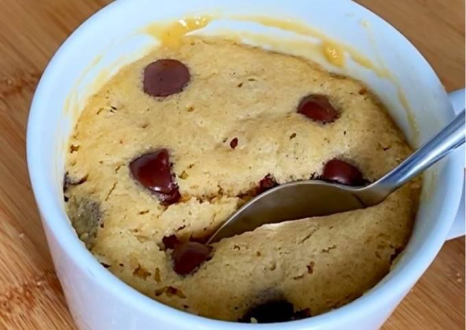 Mug cake cookies