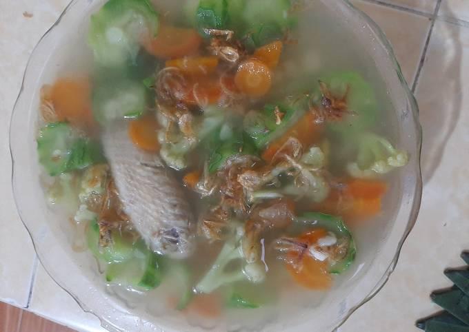 Bagaimana Membuat Sup Ayam Oyong , Lezat Sekali
