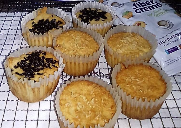 Cake Singkong Fiber Creme GLUTEN FREE No Baking Powder&Soda Kue