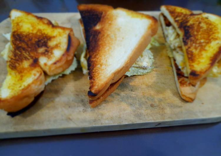 Resep Sandwich Roti Tawar Bikin Laper