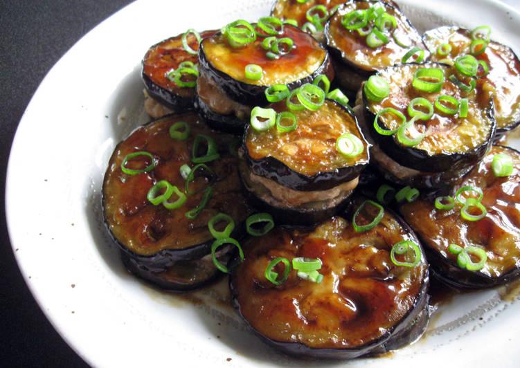 How to Prepare Ultimate Teriyaki Eggplant & Pork Mince