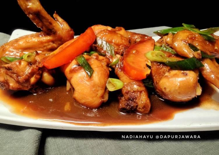 Resep Ayam Kecap (Versi Oriental) Yang Simple Endes