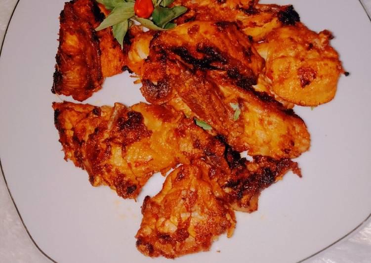 Ayam panggang teflon taliwang