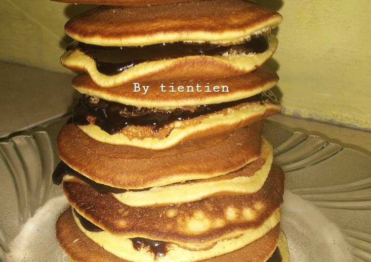 Resep 83. Fluffy Pancake alias Dorayaki ala @tin_tientien Paling Mudah