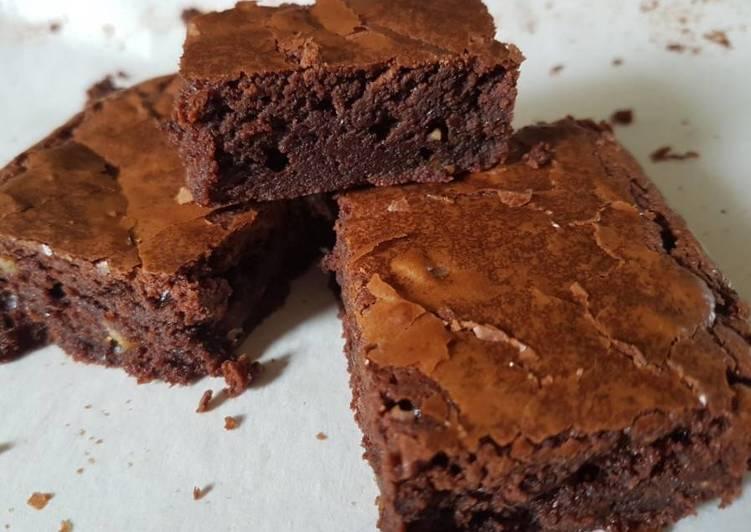 Moist brownie