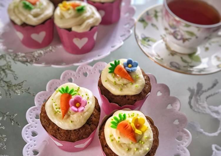 Cup cake wortel 🥕