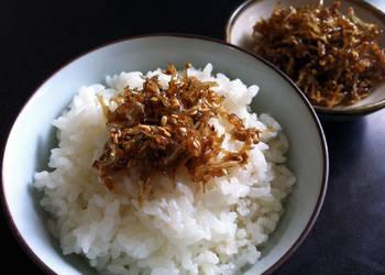 Easiest Way to Prepare Tasty Baby Sardines Tsukudani