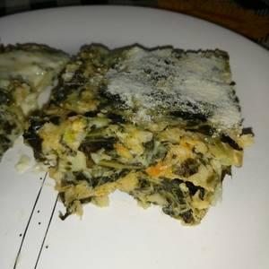 Tortilla de verduras y vegetales al Horno
