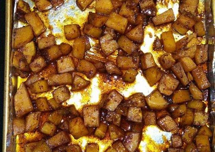 Sweet and Spicy Roasted Butternut Squash