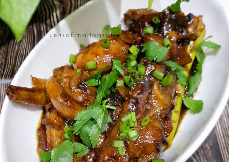 Ayam Masak Kicap - resepipouler.com