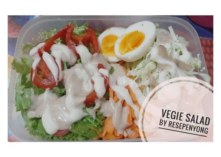 VEGIE SALAD (salad sayur sehat)