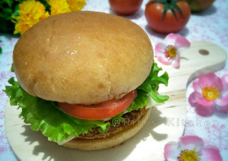 Tempeh and Anchovy Burger