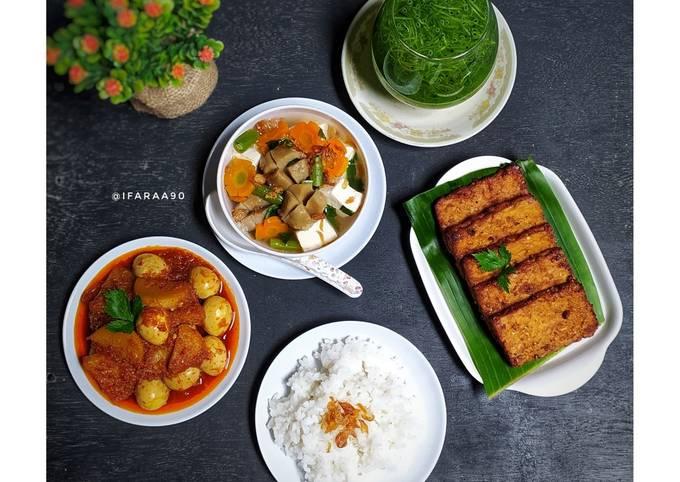 Menu Makan Siang Sederhana ala Rumahan (Recook Adminsay PADers)