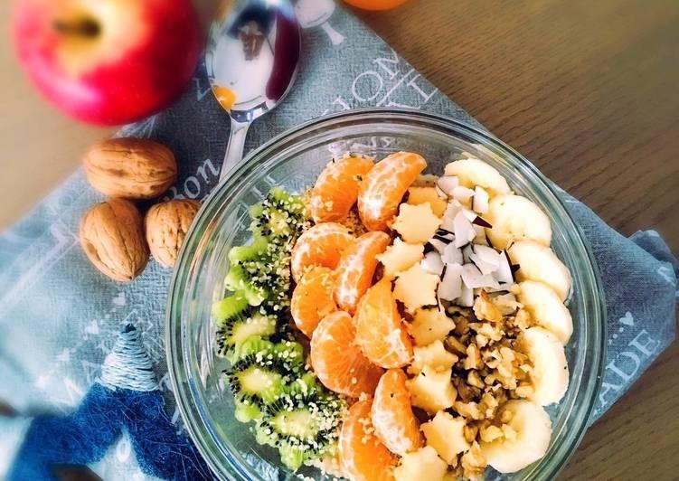 Porridge al cocco e mandorle – Fork Yeah Cookbooks
