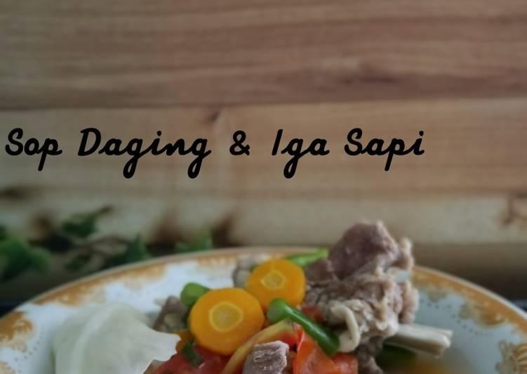 Sop Daging & Iga Sapi