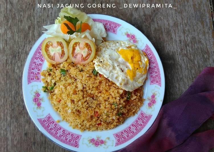 Nasi Jagung Goreng #Maree
