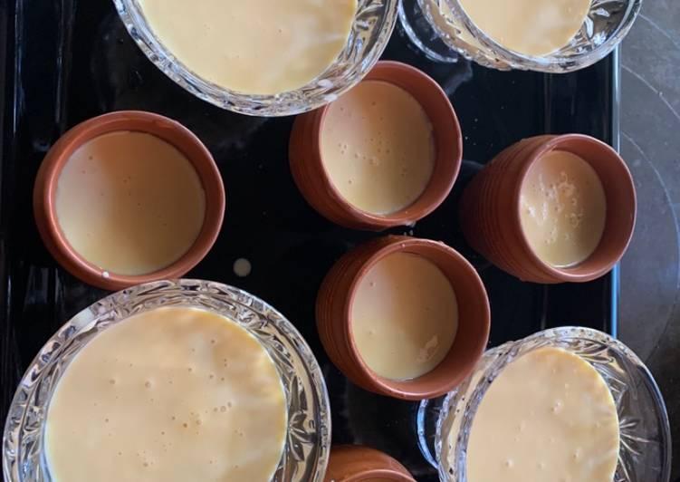 Recipe of Super Quick Homemade Mango magic - Baked yogurt